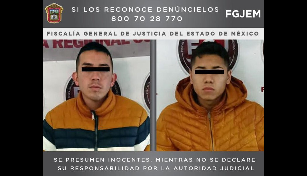 CAEN DOS PROBABLES ASALTANTES DE TRANSPORTE PÚBLICO EN TULTITLÁN