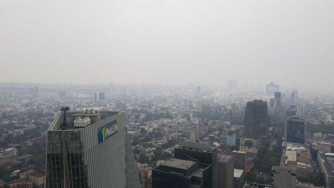 MANTIENEN MEDIDAS POR ALTAS CONCENTRACIONES DE OZONO EN ZMVM