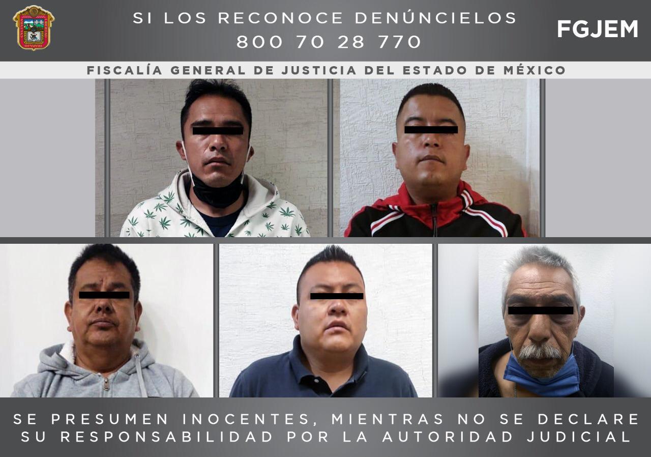 DETIENEN A CUATRO POLICÍAS MUNICIPALES Y UN ADMINISTRATIVO DE ECATEPEC POR SECUESTRO EXPRÉS