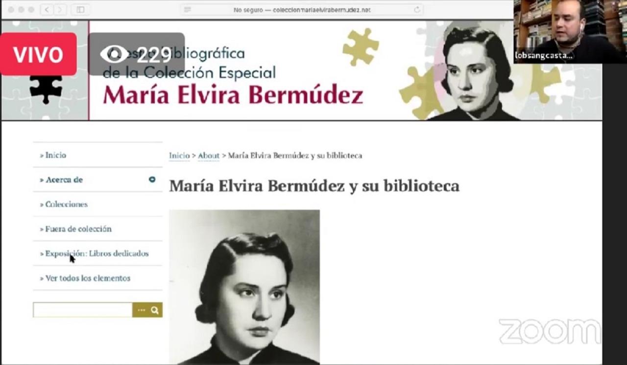 LIBROS DE MARÍA ELVIRA BERMÚDEZ ESTÁN DISPONIBLE EN VERSIÓN DIGITAL