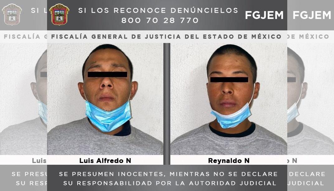 DOS SUJETOS INVESTIGADOS POR UN HOMICIDIO EN TULTITLÁN SON DETENIDOS