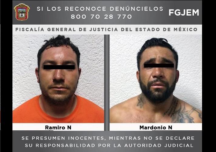 FUERON CAPTURADOS POR UN DOBLE HOMICIDIO EN IXTAPAN DE LA SAL