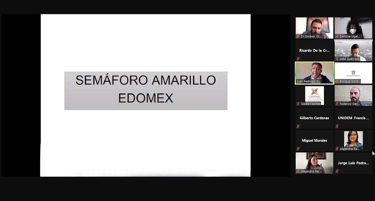 SECTOR EMPRESARIAL MEXIQUENSE APLICA MEDIDAS SANITARIAS EN SEMÁFORO AMARILLO