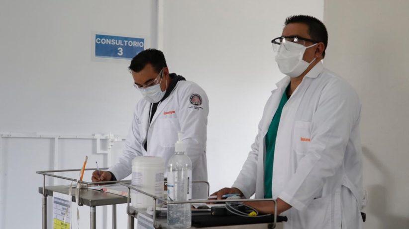 RECIBEN TRATAMIENTO POST-COVID MIL 300 PACIENTES DEL CENTRO MÉDICO ISSEMYM TOLUCA