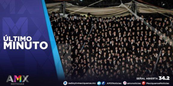 MUEREN AL MENOS 38 PERSONAS POR ESTAMPIDA HUMANA EN ISRAEL