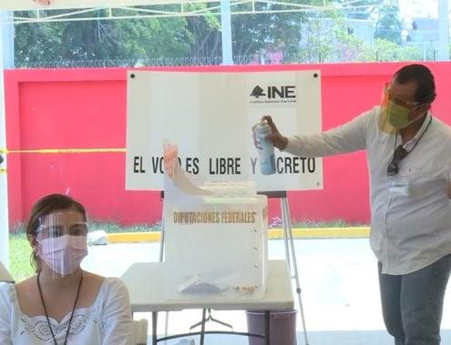 INE ENVIÓ PROTOCOLO DE SEGURIDAD SANITARIA PARA LAS ELECCIONES