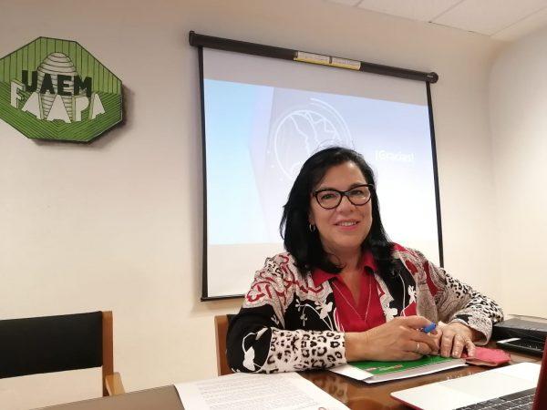 YOLANDA BALLESTEROS SE RETIRA DE LA CONTIENDA POR LA RECTORÍA DE LA UAEMÉX