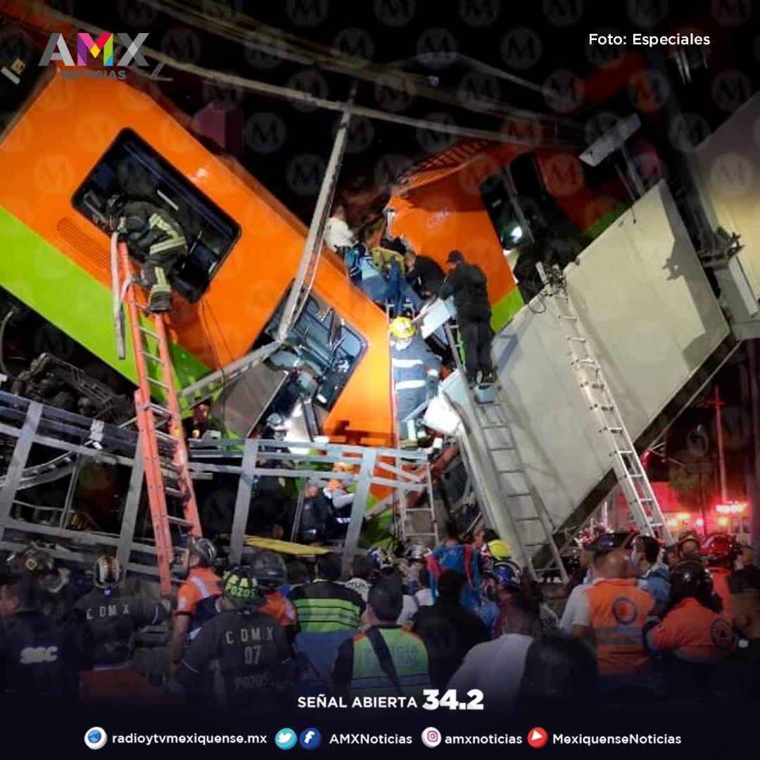 LA CAÍDA DEL CONVOY EN LA LÍNEA 12 DEL METRO CAPITALINO