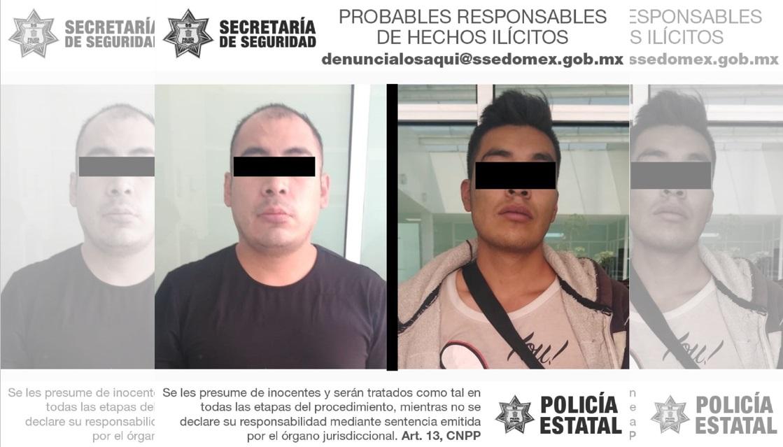 POR ROBO CON VIOLENCIA A TRANSPORTE PÚBLICO DETIENEN A DOS POSIBLES RESPONSABLES