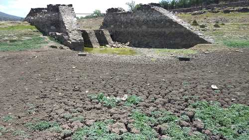 SE SECARON ESTE AÑO OCHO PRESAS DE HIDALGO: CONAGUA