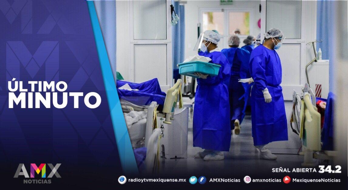 SE REGISTRAN 817 PERSONAS POR COVID-19 EN HOSPITALES MEXIQUENSES