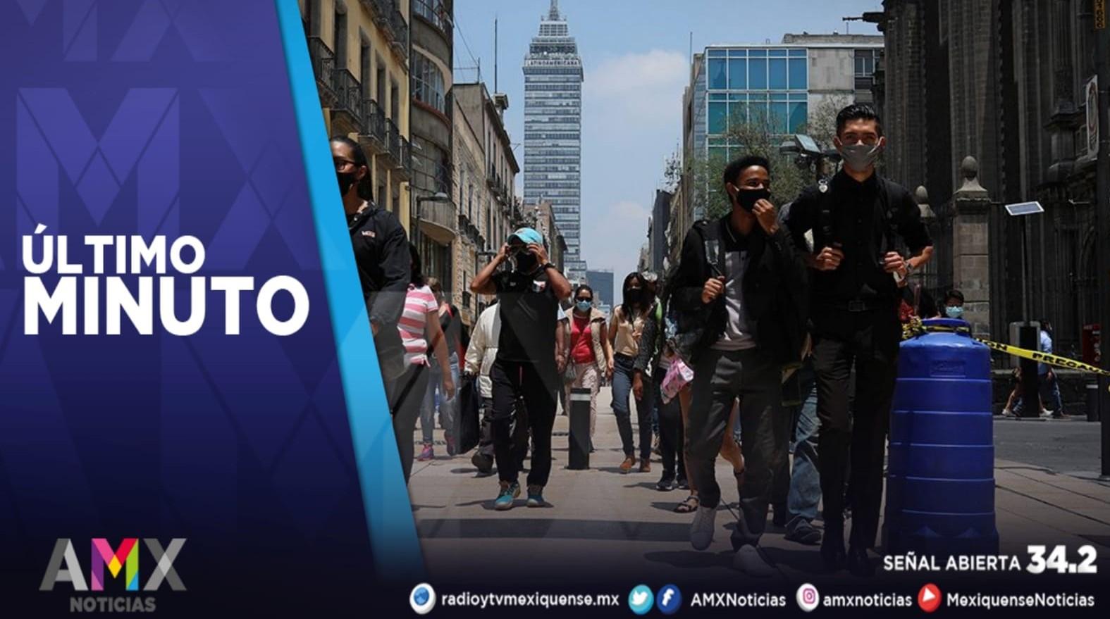 LA CDMX PASA A SEMÁFORO AMARILLO DE ALERTA POR COVID-19