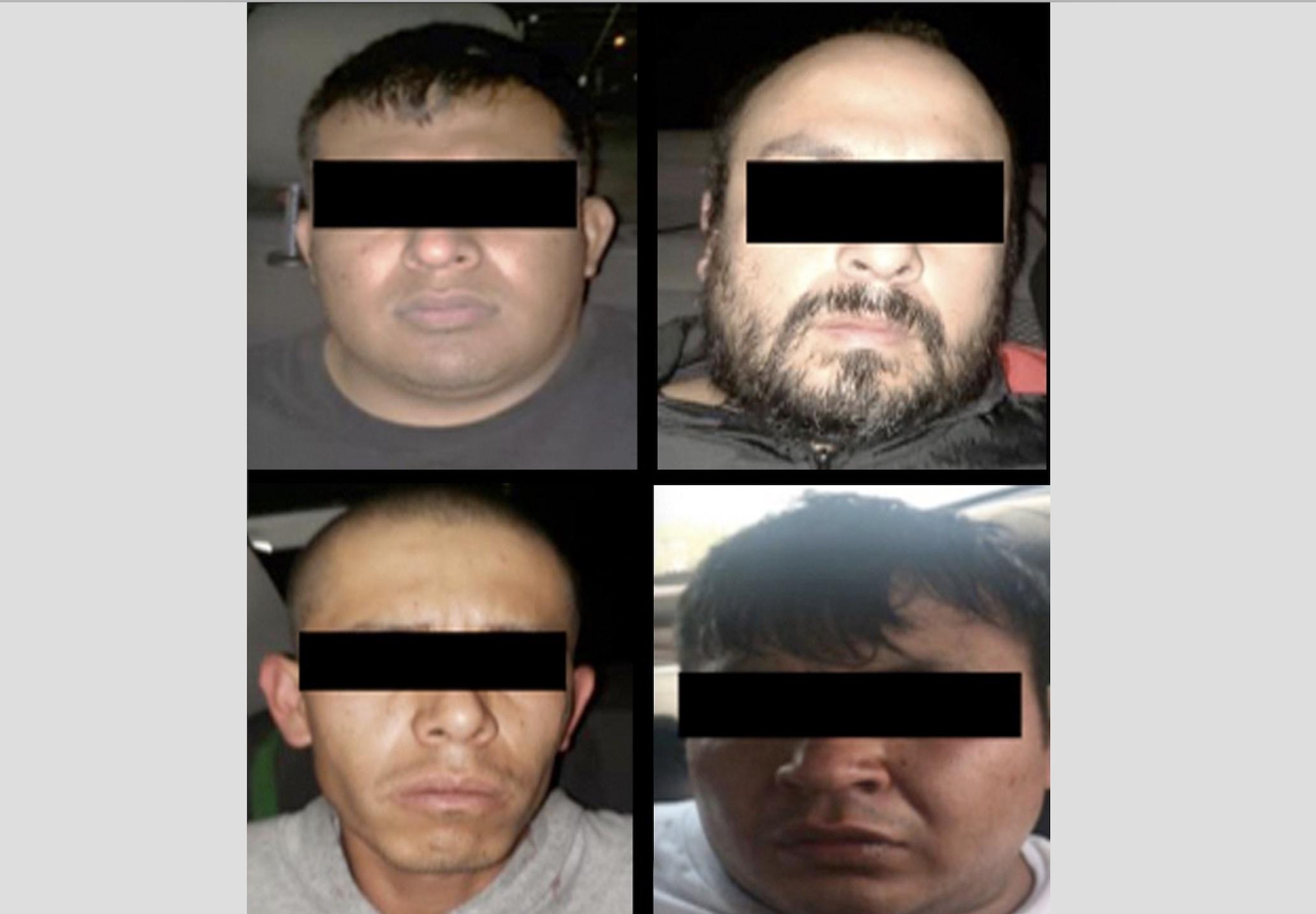 DETIENEN A CINCO PROBABLES RESPONSABLES DEL DELITO DE ROBO CON VIOLENCIA