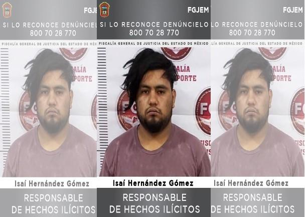 DAN 23 AÑOS DE PRISIÓN A SUJETO POR ROBO CON VIOLENCIA EN CHIMALHUACÁN