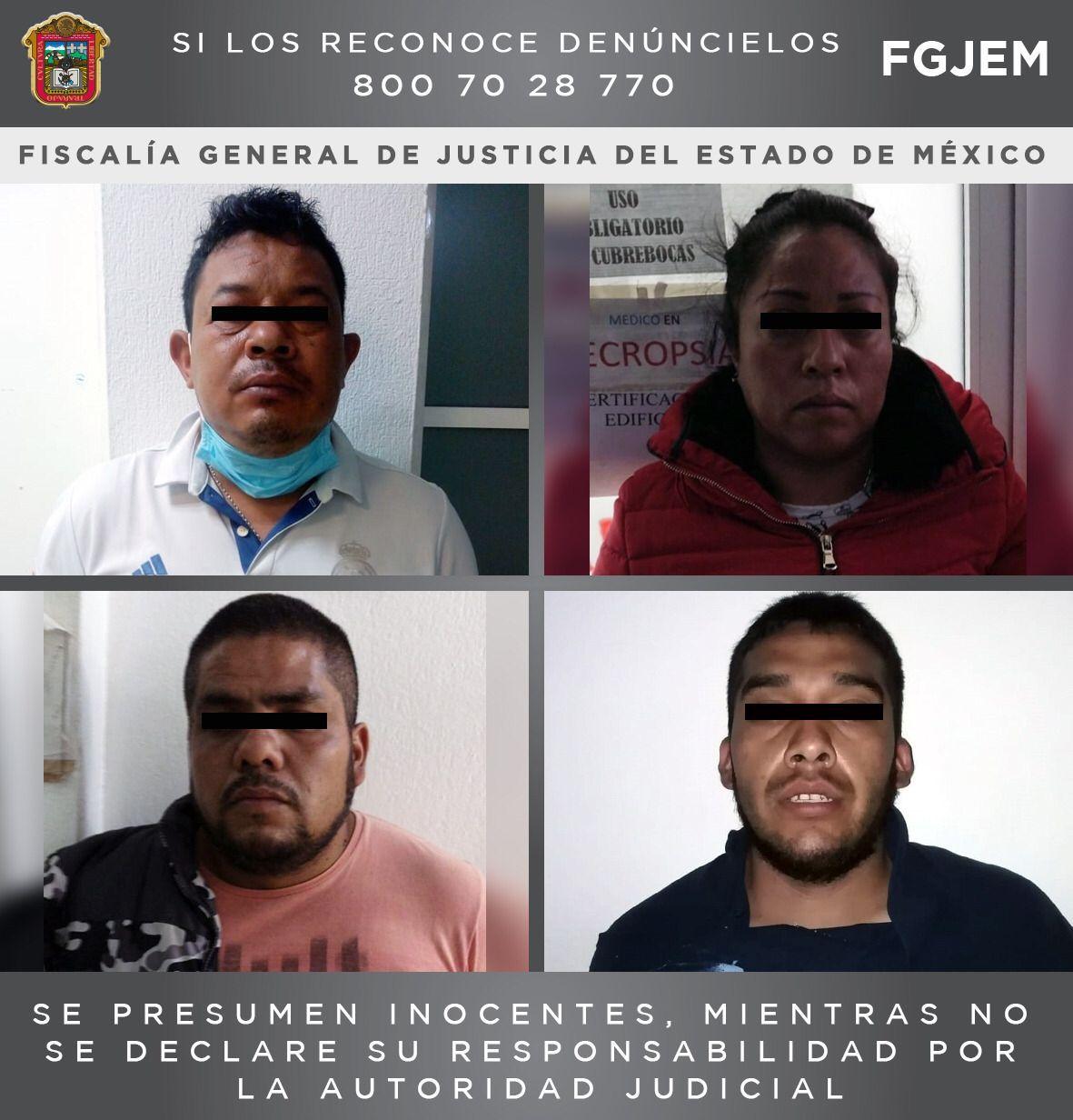 DETIENEN A CUATRO SUJETOS DE UNA BANDA DELICTIVA DEDICADA AL ROBO DE VEHÍCULOS EN EL VALLE DE MÉXICO