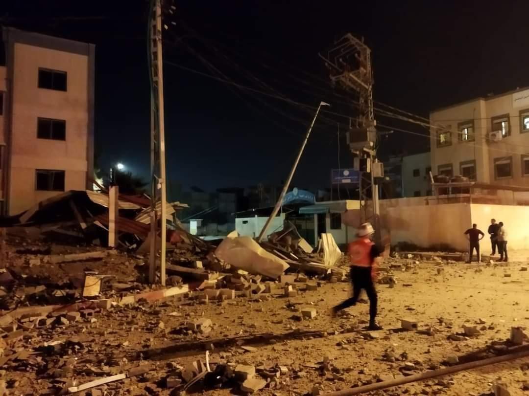 BOMBARDEO EN GAZA DEJA AL MENOS 20 MUERTOS