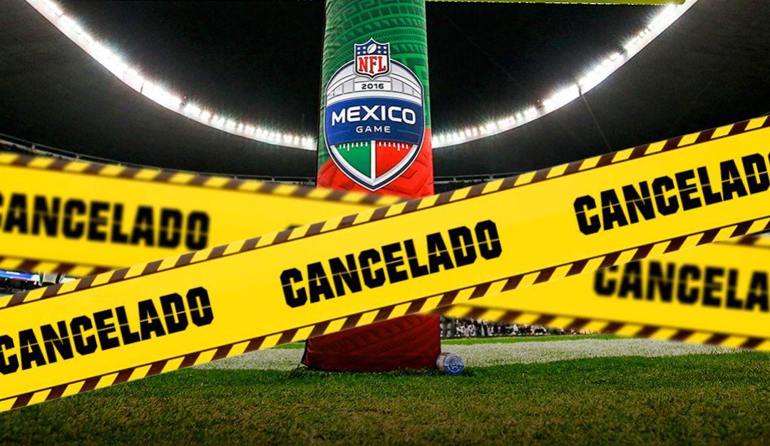NFL CANCELA SU PARTIDO EN MÉXCO POR CULPA DEL COVID-19