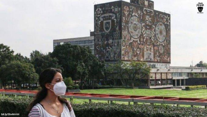 UNAM ALISTA REANUDACIÓN DE ACTIVIDADES PRESENCIALES; LIMPIA PLANTELES