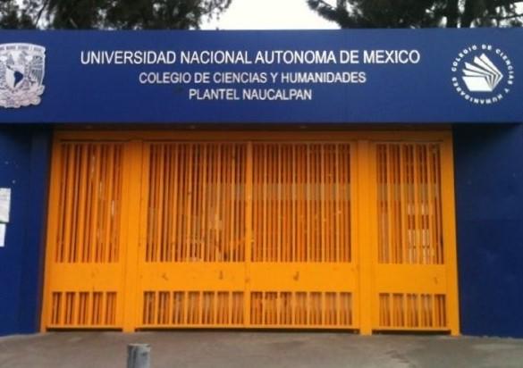 PRESUNTOS ESTUDIANTES INTENTAN TOMAR INSTALACIONES DEL CCH NAUCALPAN