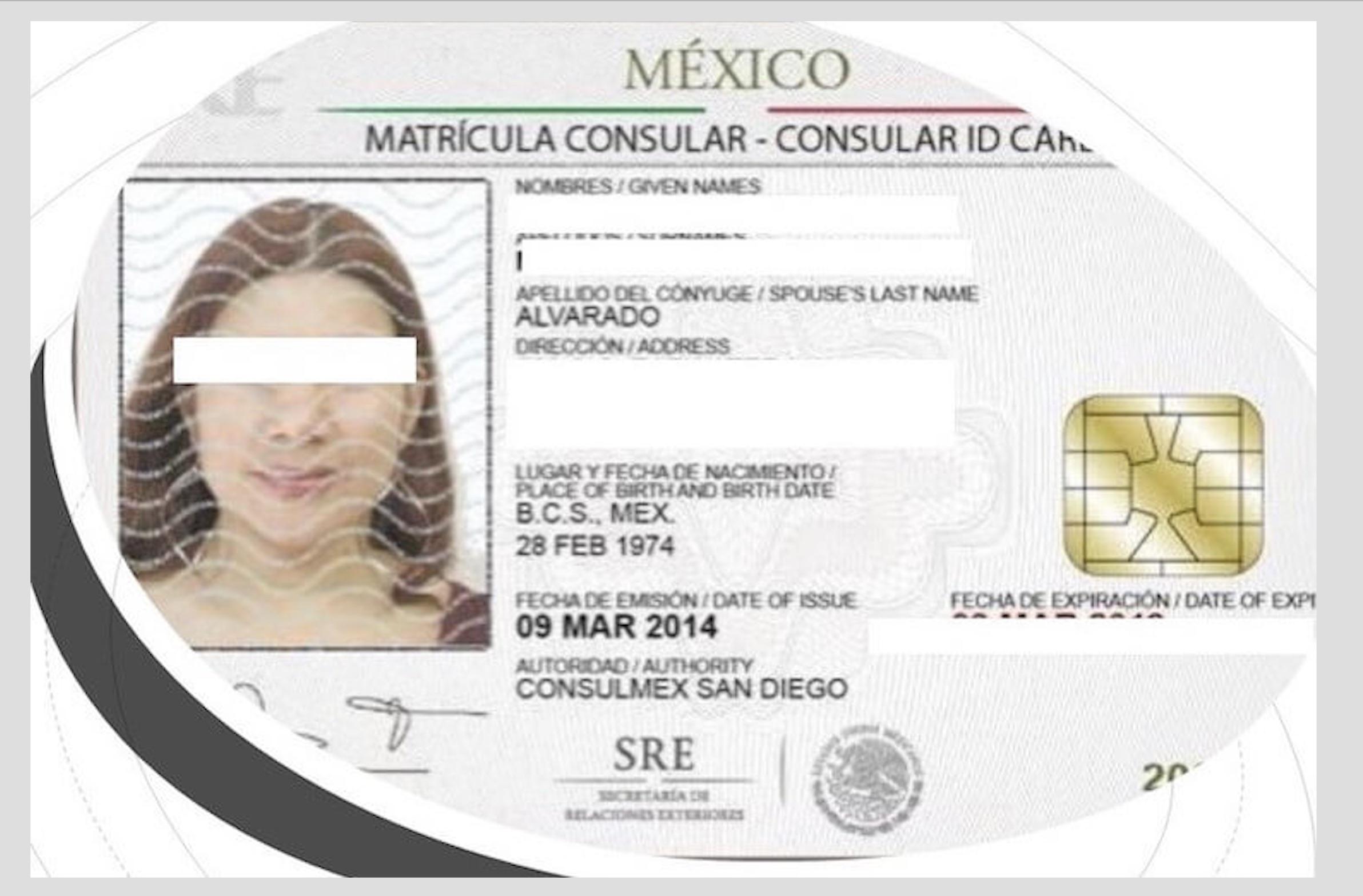 MÉXICO RESTABLECE EMISIÓN DE MATRÍCULAS CONSULARES DE ALTA SEGURIDAD EN ESTADOS UNIDOS