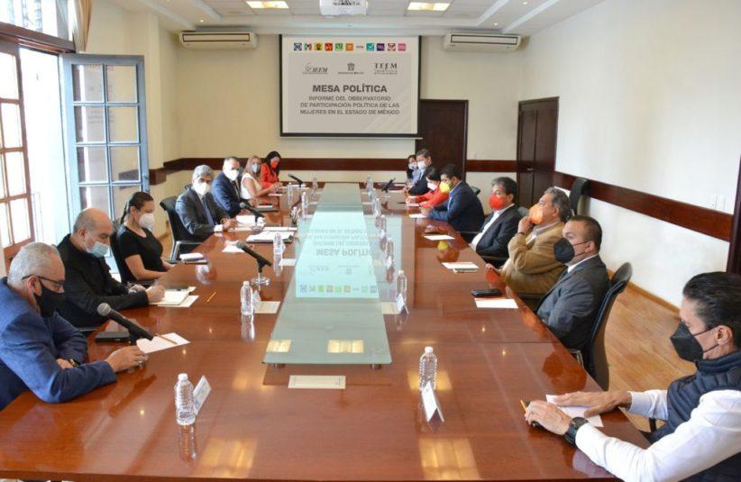 PRESENTAN INFORME DEL OBSERVATORIO DE PARTICIPACIÓN POLÍTICA DE LAS MUJERES EN EL ESTADO DE MÉXICO