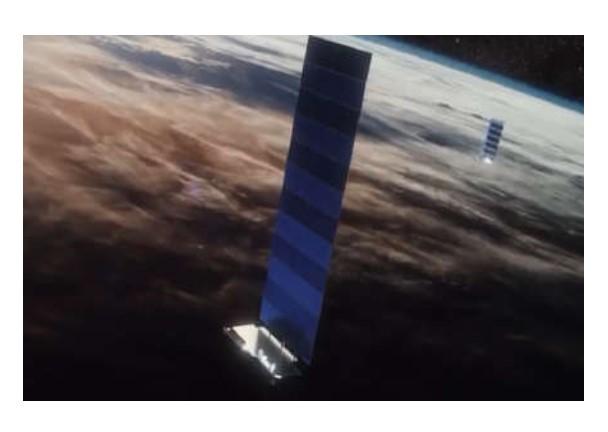 SPACE X LANZA AL ESPACIO 60 SATÉLITES MÁS PARA SU RED DE INTERNET STARLINK