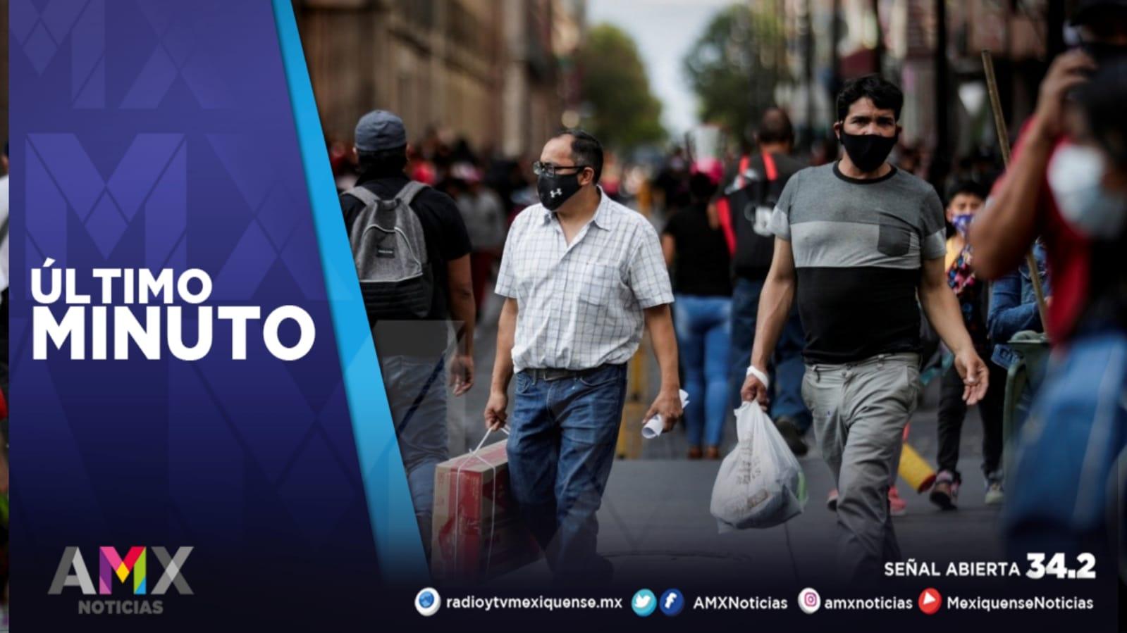 MÉXICO REGISTRA 19 MIL 722 CASOS ACTIVOS DE COVID-19