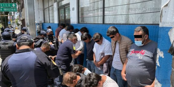 DETIENEN A 15 PRESUNTOS AGRESORES DE LA CASILLA ELECTORAL