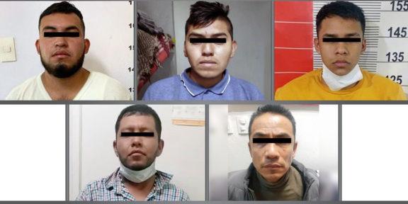 PROCESAN A 5 POR LOS DELITOS DE ROBO DE VEHÍCULO Y SECUESTRO EXPRÉS