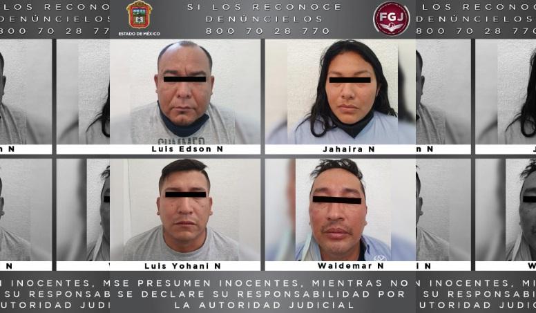 PROCESAN A CUATRO PERSONAS POR ROBO CON VIOLENCIA EN NAUCALPAN