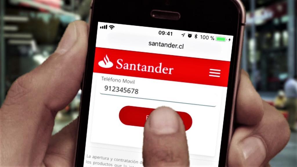SANTANDER PRESENTA FALLAS EN SU SERVICIO DE TRANSFERENCIAS; PIDE DISCULPAS A SUS CLIENTES
