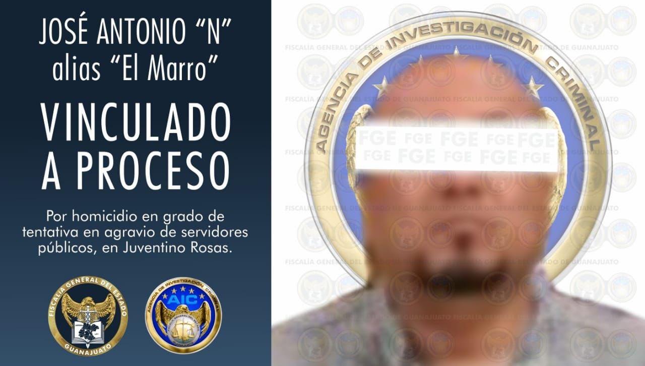 VINCULAN A PROCESO A JOSÉ ANTONIO YÉPEZ, 'EL MARRO'
