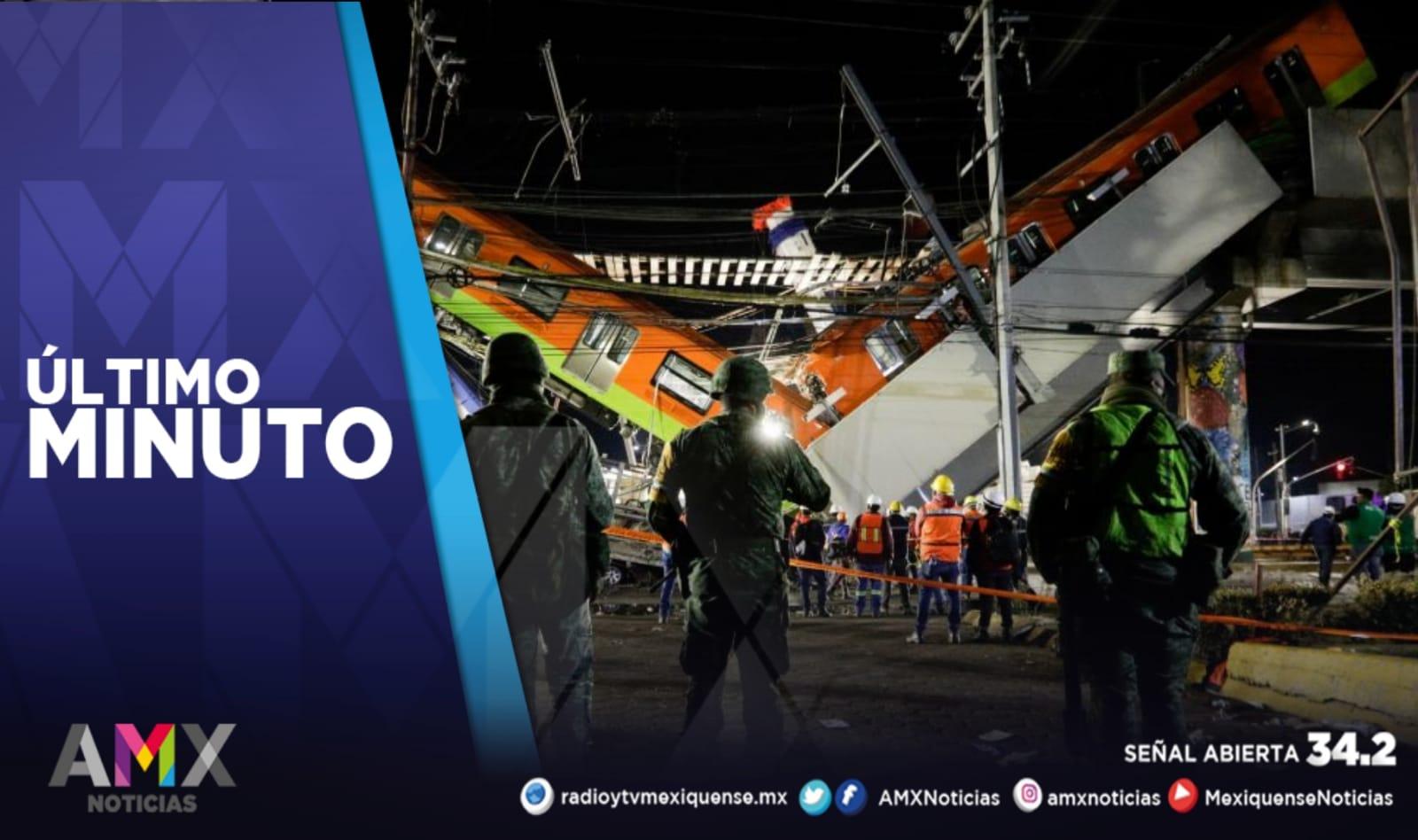 PRESENTAN PERITAJE PRELIMINAR SOBRE EL ACCIDENTE DE LA L12 DEL METRO