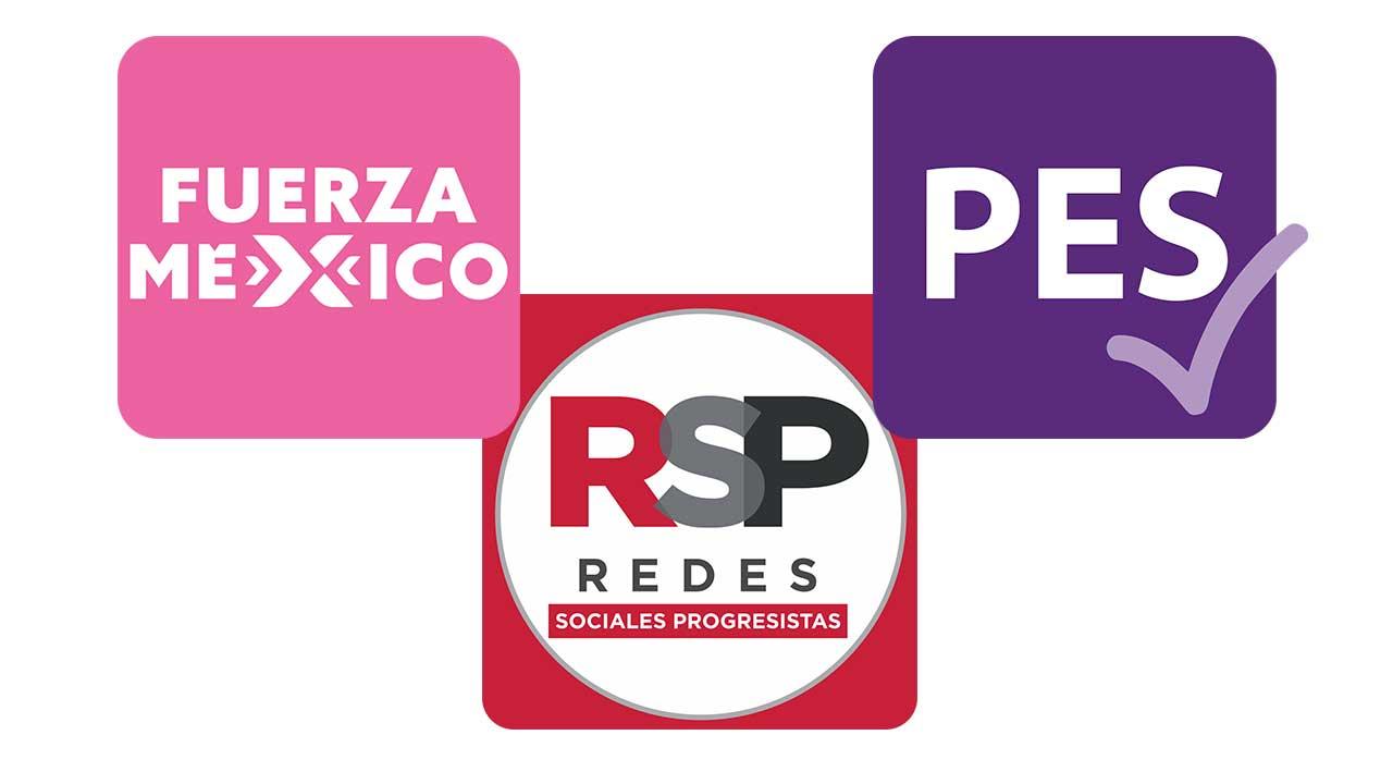 INICIA RETIRO DE REGISTRO A FUERZA POR MÉXICO, PES Y REDES SOCIALES PROGRESISTAS