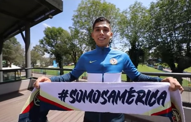 SALVADOR REYES ES NUEVO REFUERZO DEL AMÉRICA