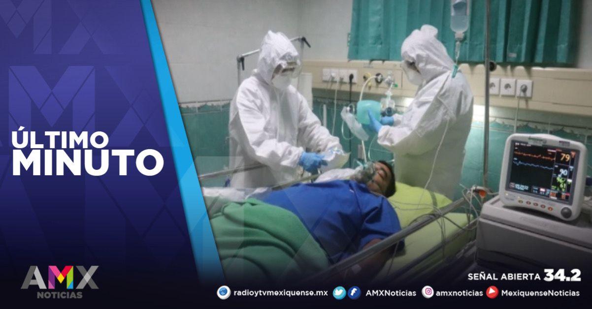 CONTINÚAN EN EL EDOMÉX 609 PERSONAS HOSPITALIZADAS POR COVID-19