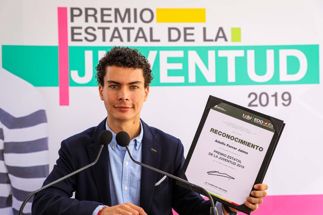 CONVOCA GOBIERNO DEL EDOMÉX AL PREMIO ESTATAL DE LA JUVENTUD 2021
