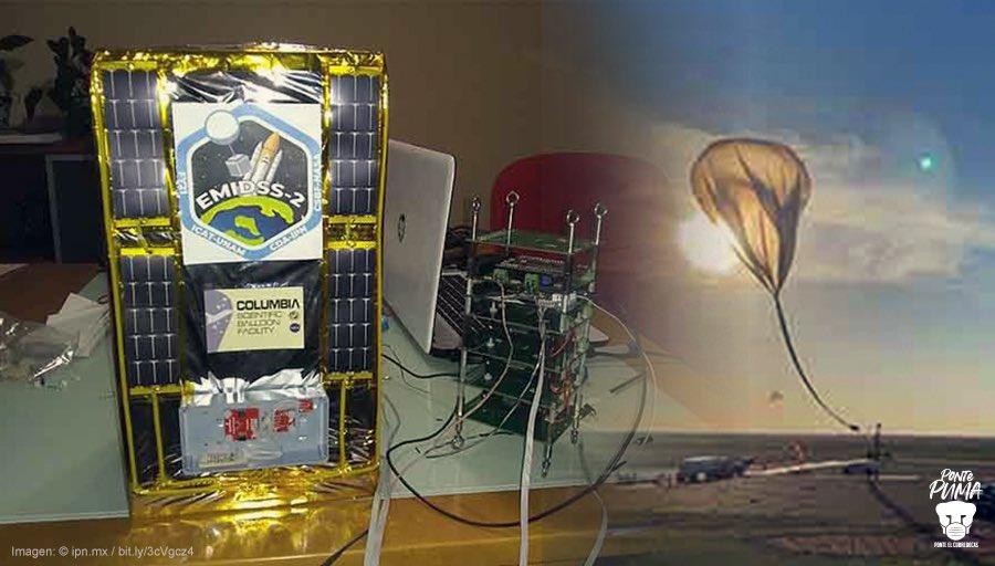 NASA PRUEBA NANOSATELITALES DESARROLLADOS POR LA UNAM E IPN