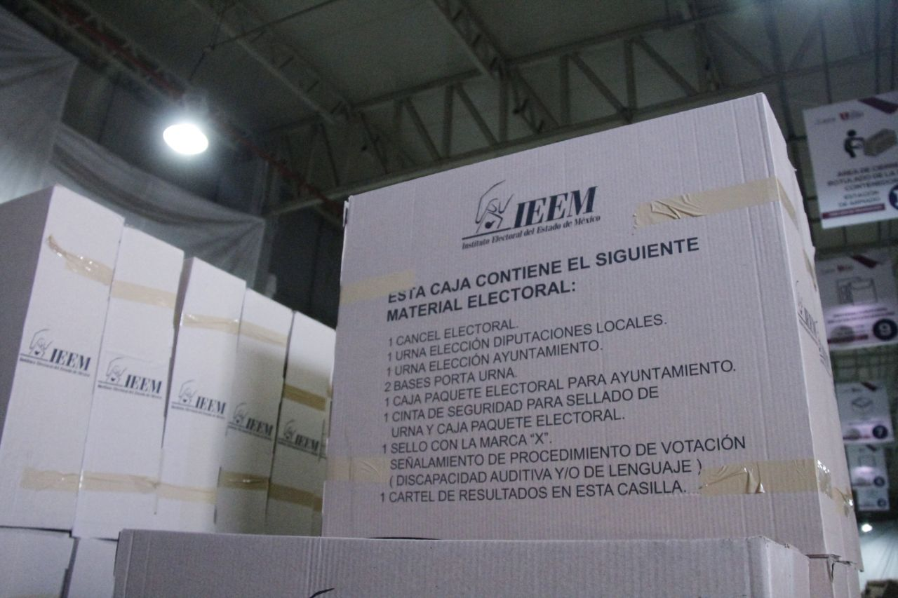 AVANZA IEEM EN LA RECUPERACIÓN DE MATERIAL ELECTORAL
