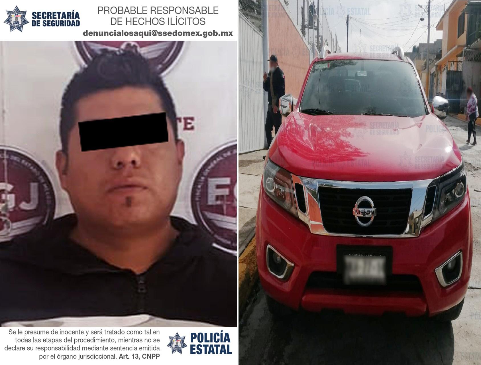 RECUPERAN UNA CAMIONETA ROBADA DURANTE HURTO A CASA HABITACIÓN