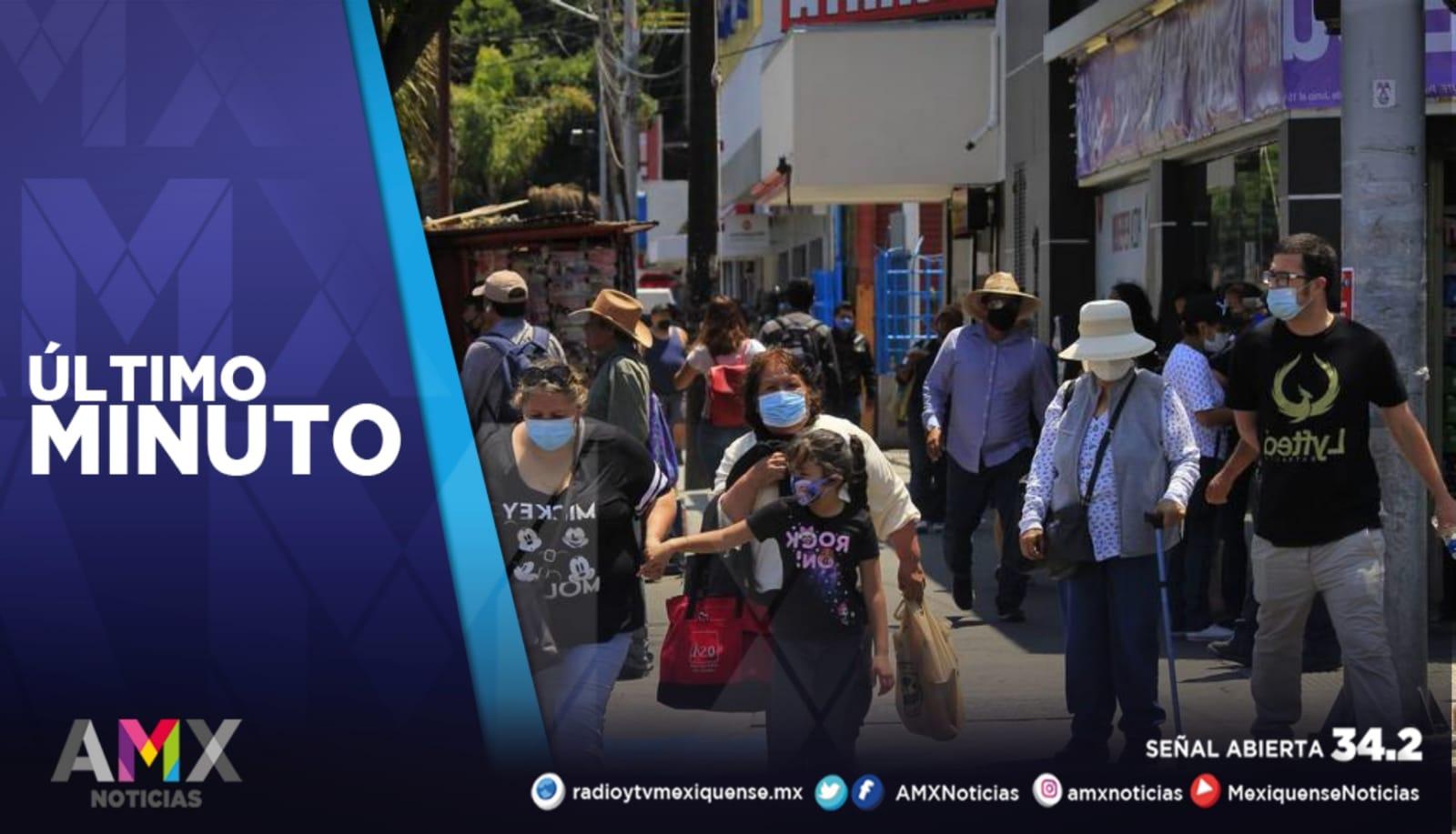 MÉXICO REGISTRA 2 MIL 384 NUEVOS CASOS DE COVID-19