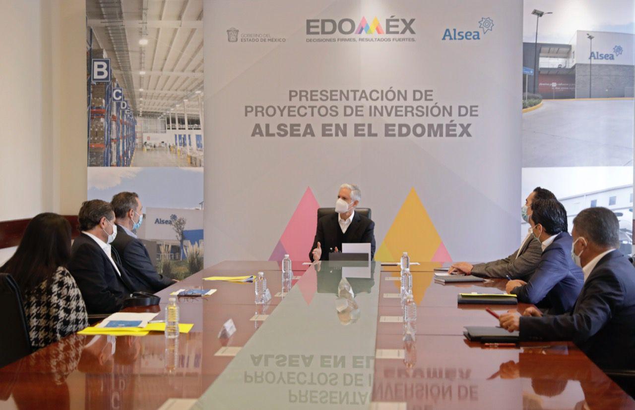 ALFREDO DEL MAZO ANUNCIA INVERSIÓN DE MÁS DE 60 MDP DE LA EMPRESA ALSEA EN EDOMÉX