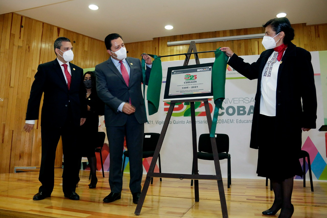 CONMEMORA COLEGIO DE BACHILLERES DEL ESTADO DE MÉXICO 25 AÑOS DE EXISTENCIA