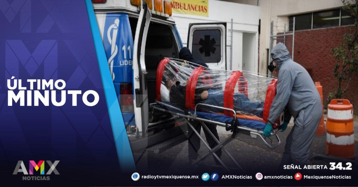 MÉXICO REGISTRA 195 NUEVAS MUERTES POR COVID-19