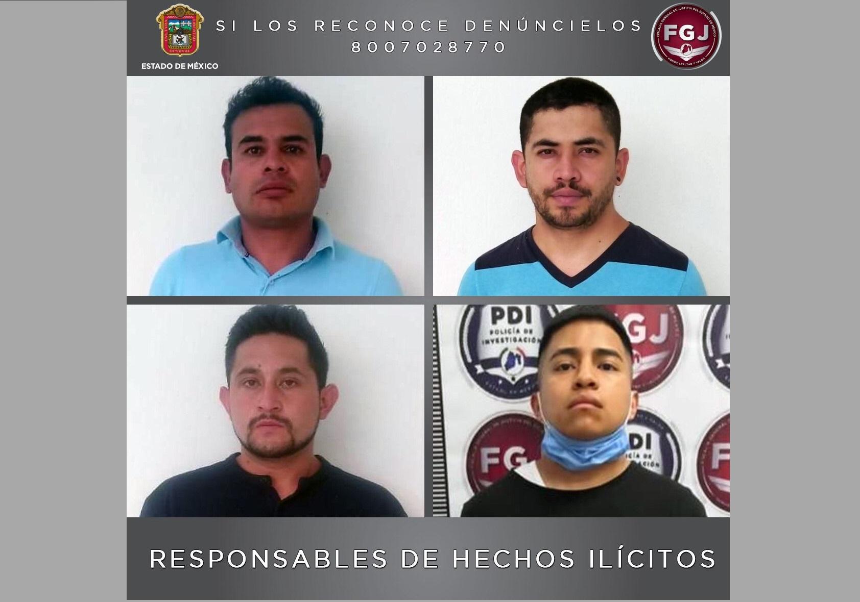 CONDENAN A 22 AÑOS DE PRISIÓN A CUATRO SUJETOS POR EL ROBO DE VEHÍCULOS