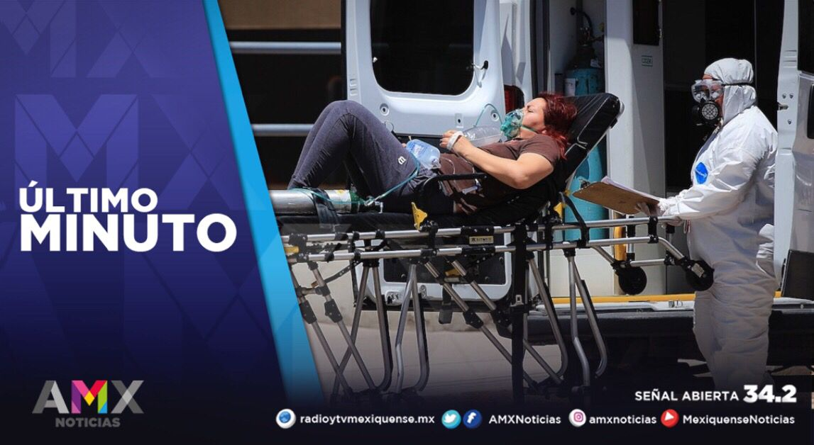 MÁS DE 600 MEXIQUENSES SON ATENTIDOS EN HOSPITALES POR COVID-19