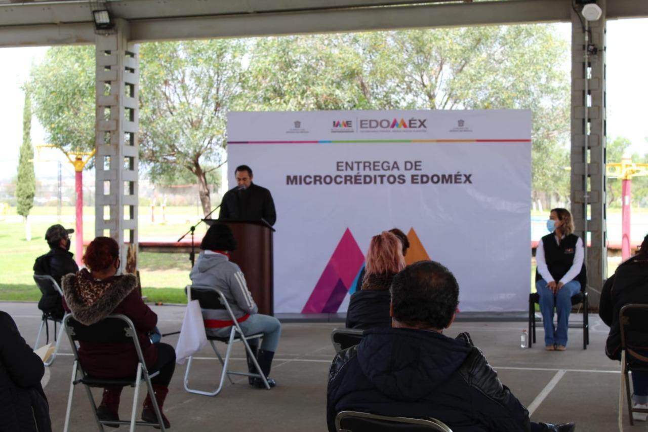 EDOMÉX INCREMENTA MICROCRÉDITOS EN APOYO DE EMPRENDEDORES