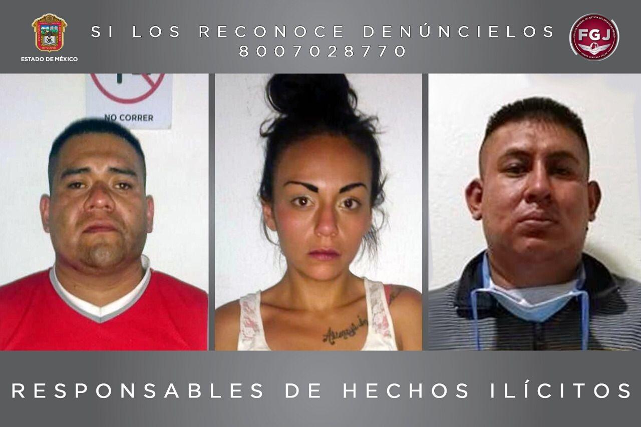 POR ROBO DE VEHÍCULO RECIBEN TRES PERSONAS 22 Y 17 AÑOS DE PRISIÓN