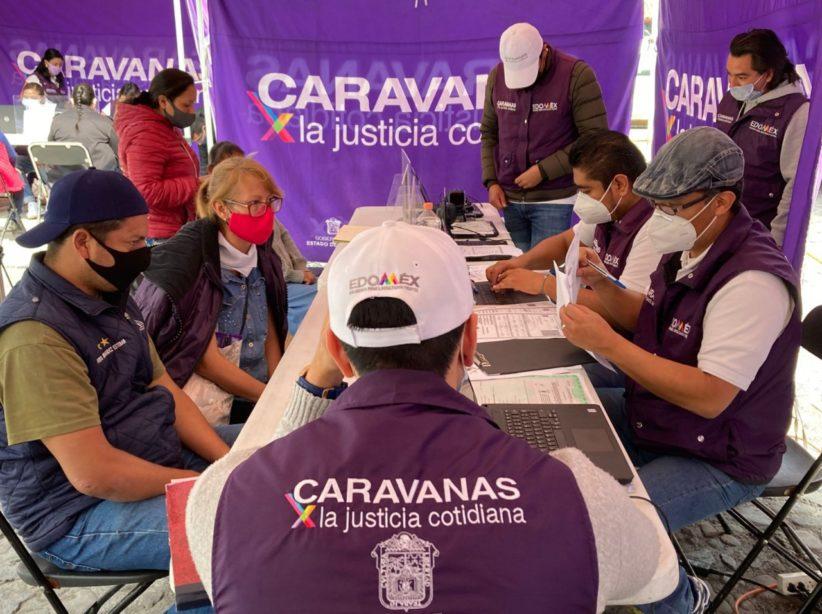 SUMA EDOMÉX MÁS DE 32 MIL PERSONAS BENEFICIADAS CON CARAVANAS POR LA JUSTICIA COTIDIANA