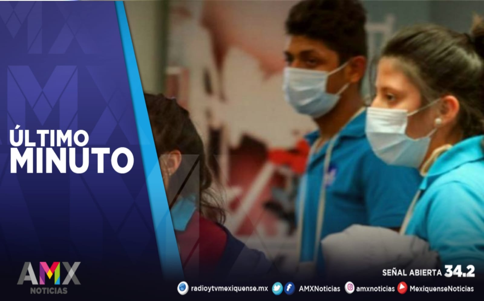 MÉXICO REGISTRA 8 MIL 507 NUEVOS CASOS DE COVID-19